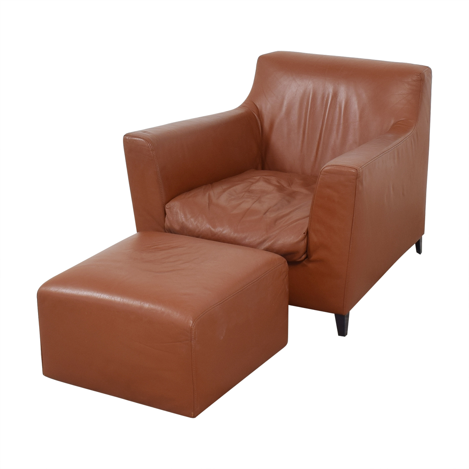 Ligne Roset Rive Droite Armchair with Ottoman / Chairs