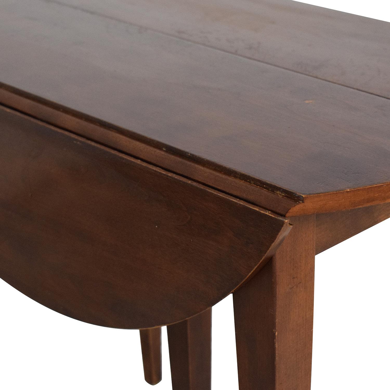 buy Nichols & Stone Walden Drop Leaf Extension Table Nichols & Stone Dinner Tables