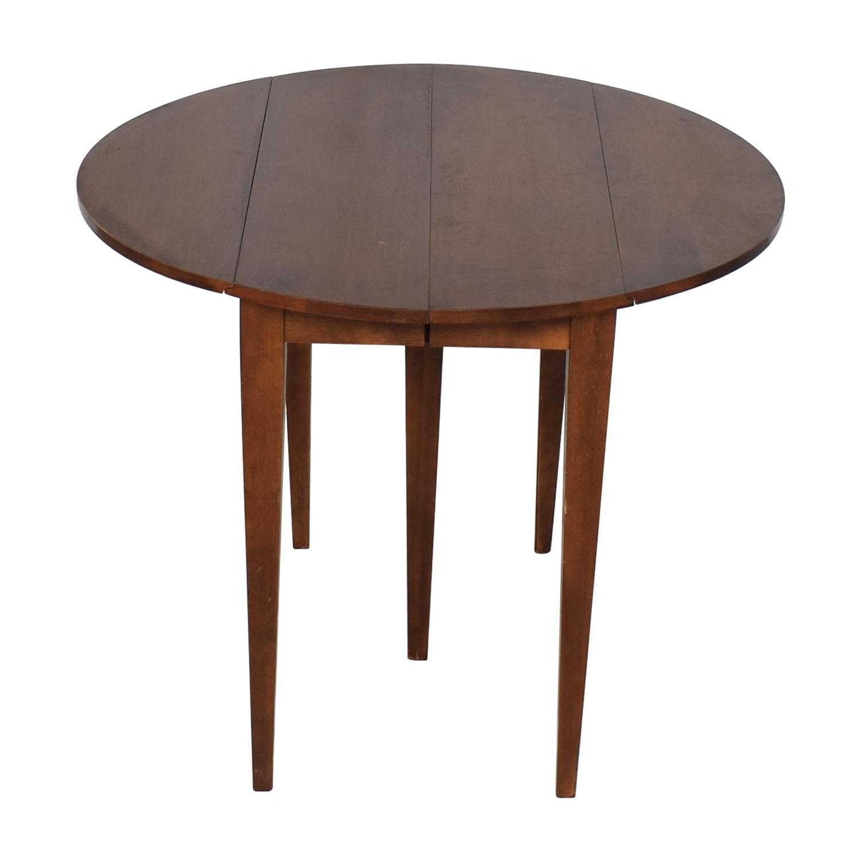 shop Nichols & Stone Walden Drop Leaf Extension Table Nichols & Stone