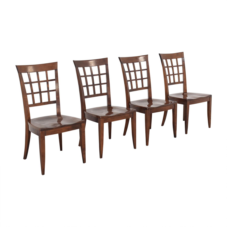 buy Stickley Furniture Cambridgeport Side Chairs Stickley Furniture Dining Chairs