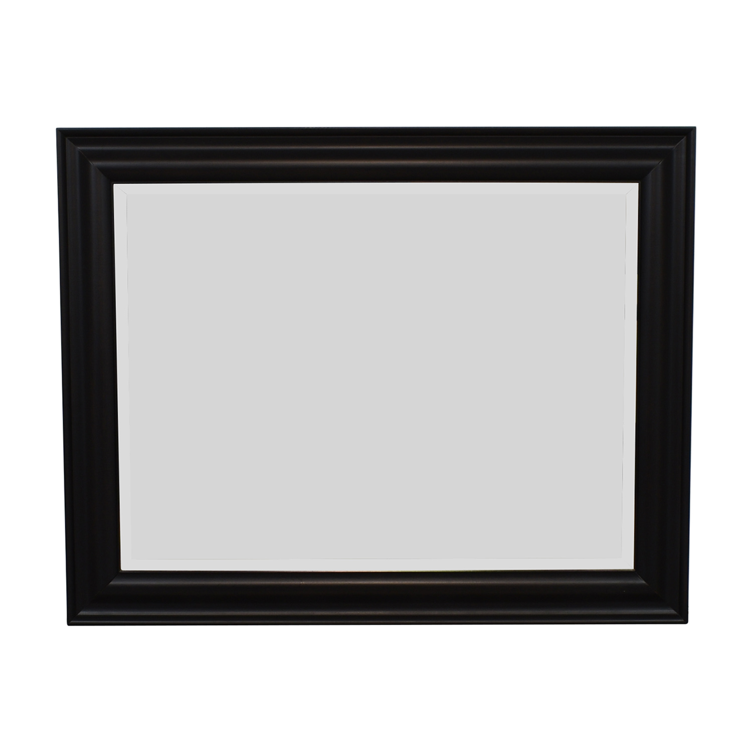 West Elm West Elm Framed Mirror black