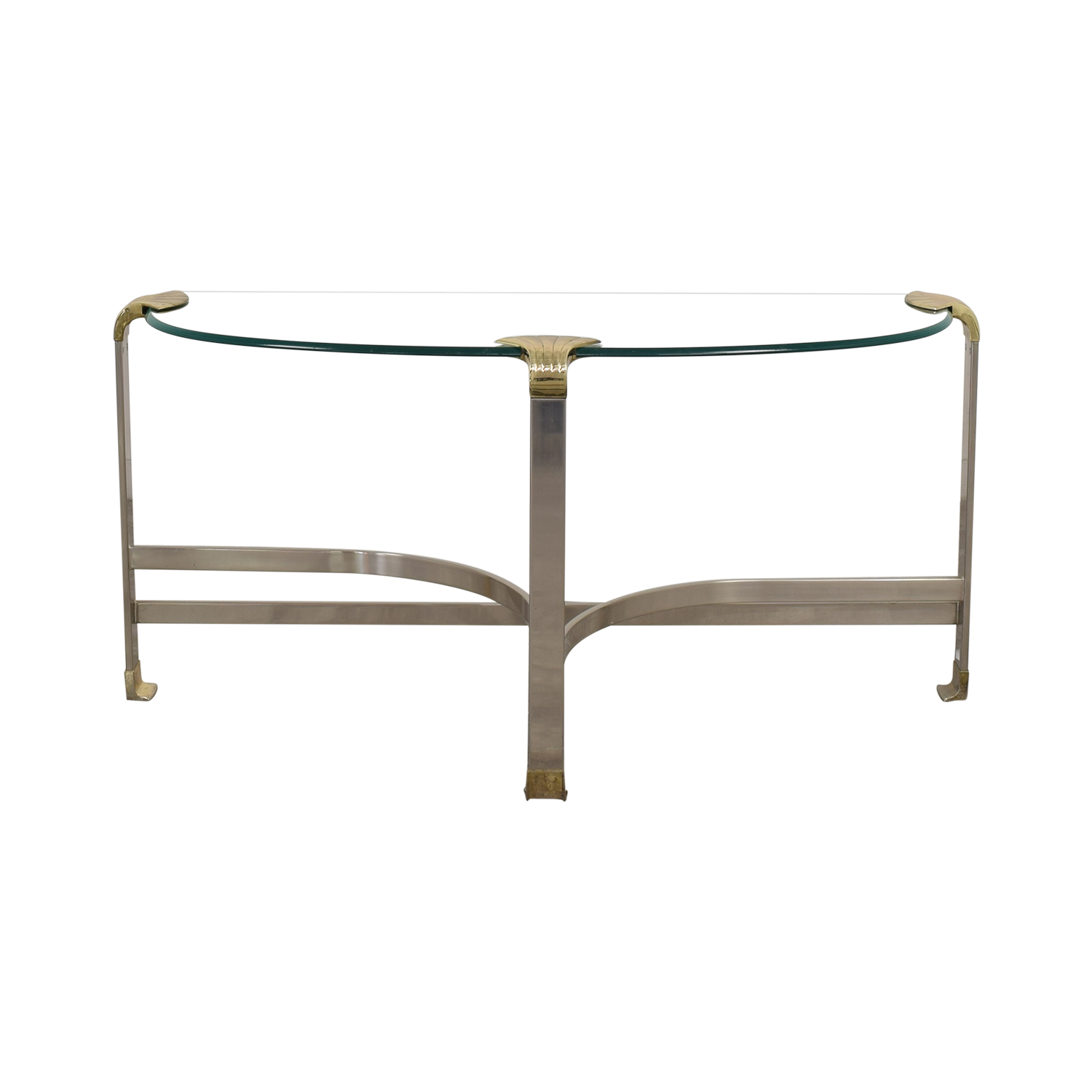 Aeon Furniture Aeon Furniture Side Table silver & gold
