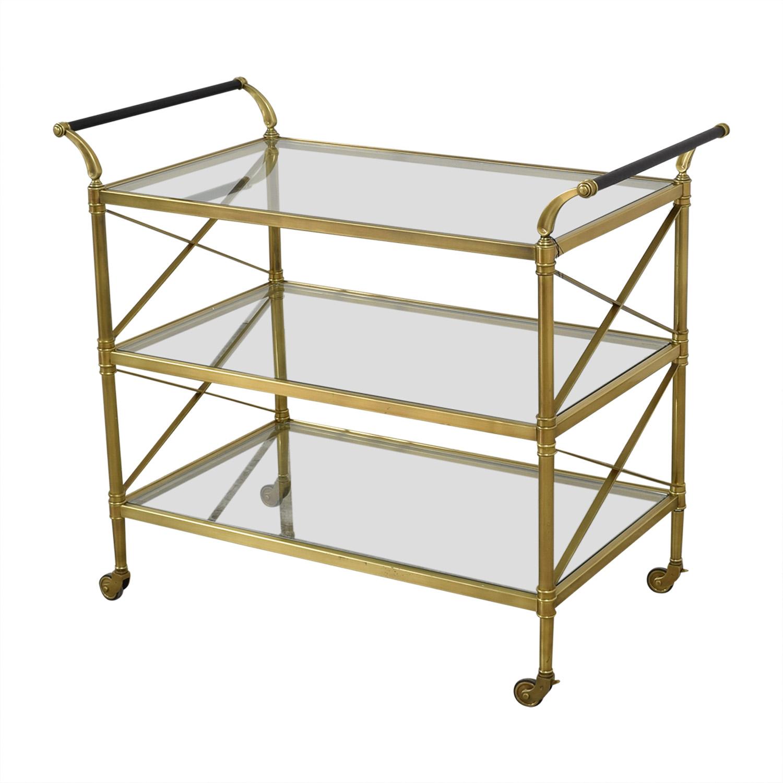 Aeon Furniture Aeon Furniture Bar Cart nyc