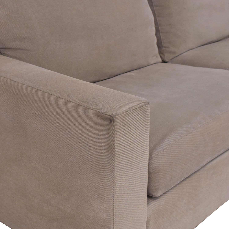 Crate & Barrel Crate & Barrel Axis II Sofa discount