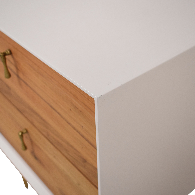 shop Organic Modernism Organic Modernism Two Drawer Bedside Tables online