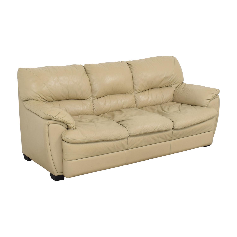 Three Cushion Sofa beige