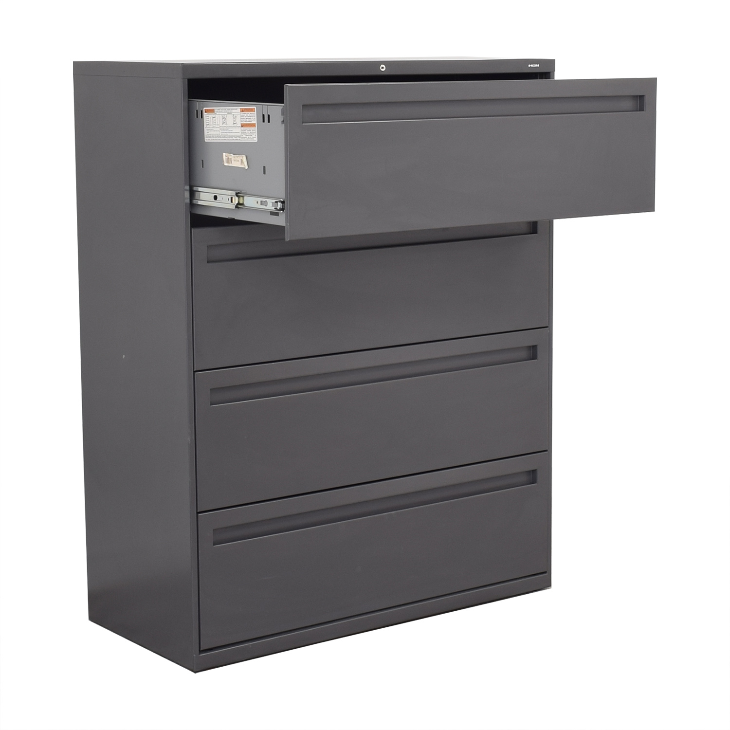 Hon Hon 4-Drawer Lateral Filing Cabinet ct