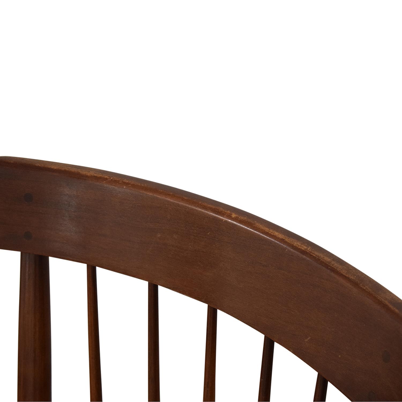 Willett Furniture Willett Mid-Century Modern Dining Chairs dimensions