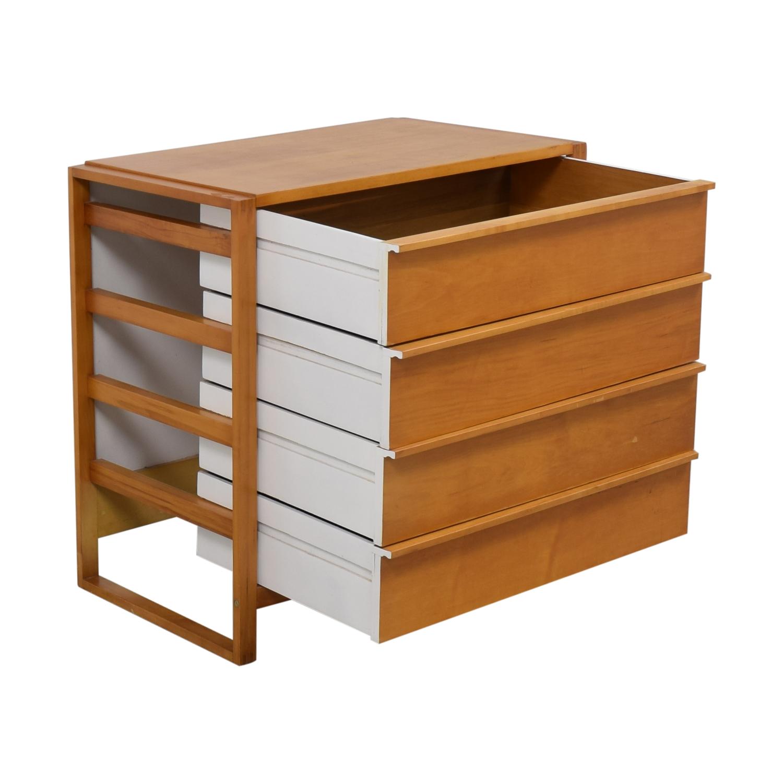 Modern Four Drawer Dresser Dressers