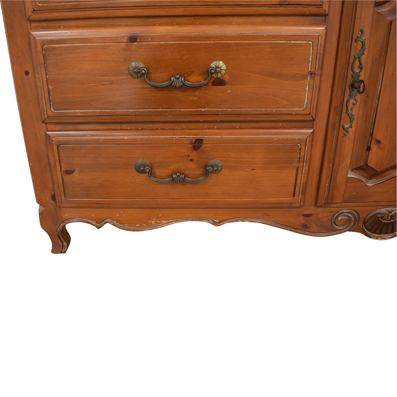 shop Ethan Allen Bedroom Dresser with Vanity Ethan Allen