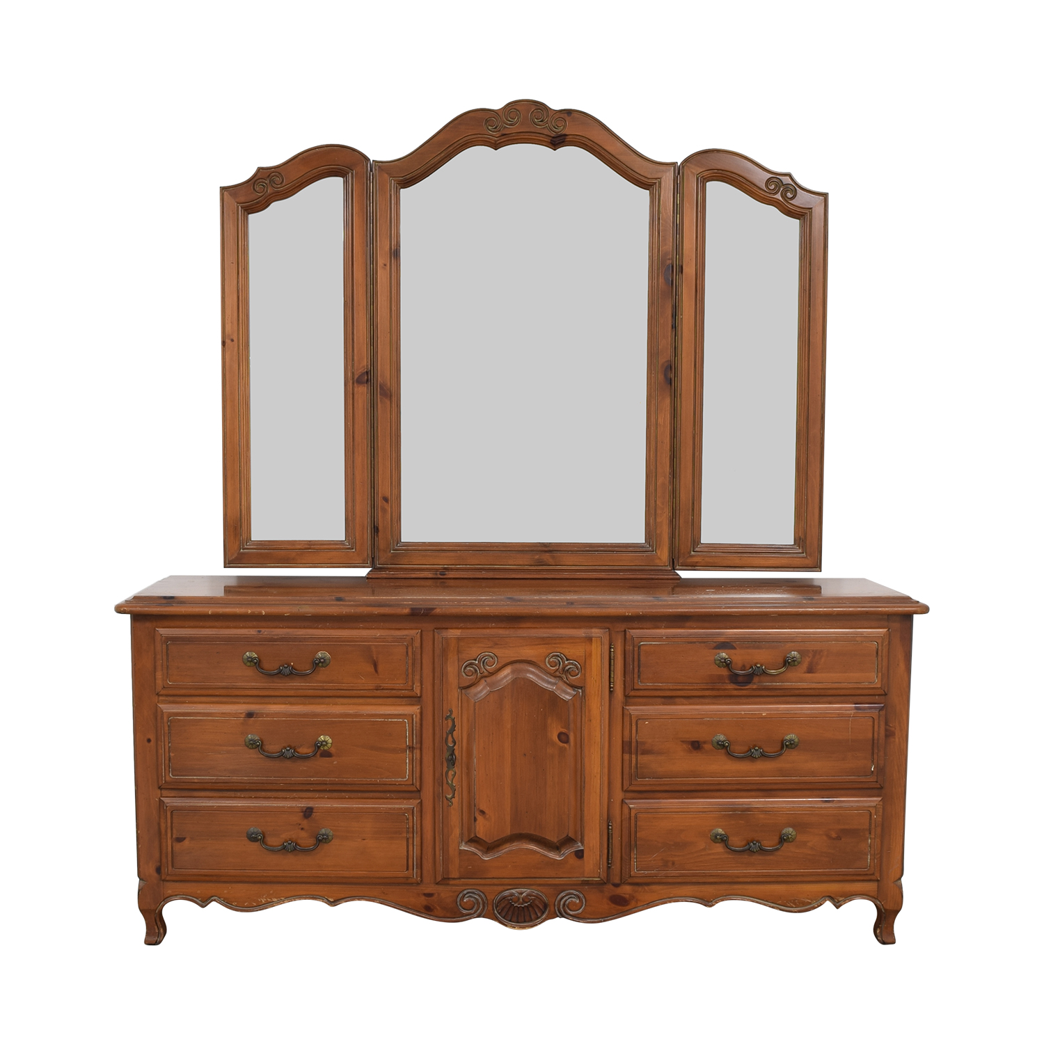 shop Ethan Allen Ethan Allen Bedroom Dresser with Vanity online