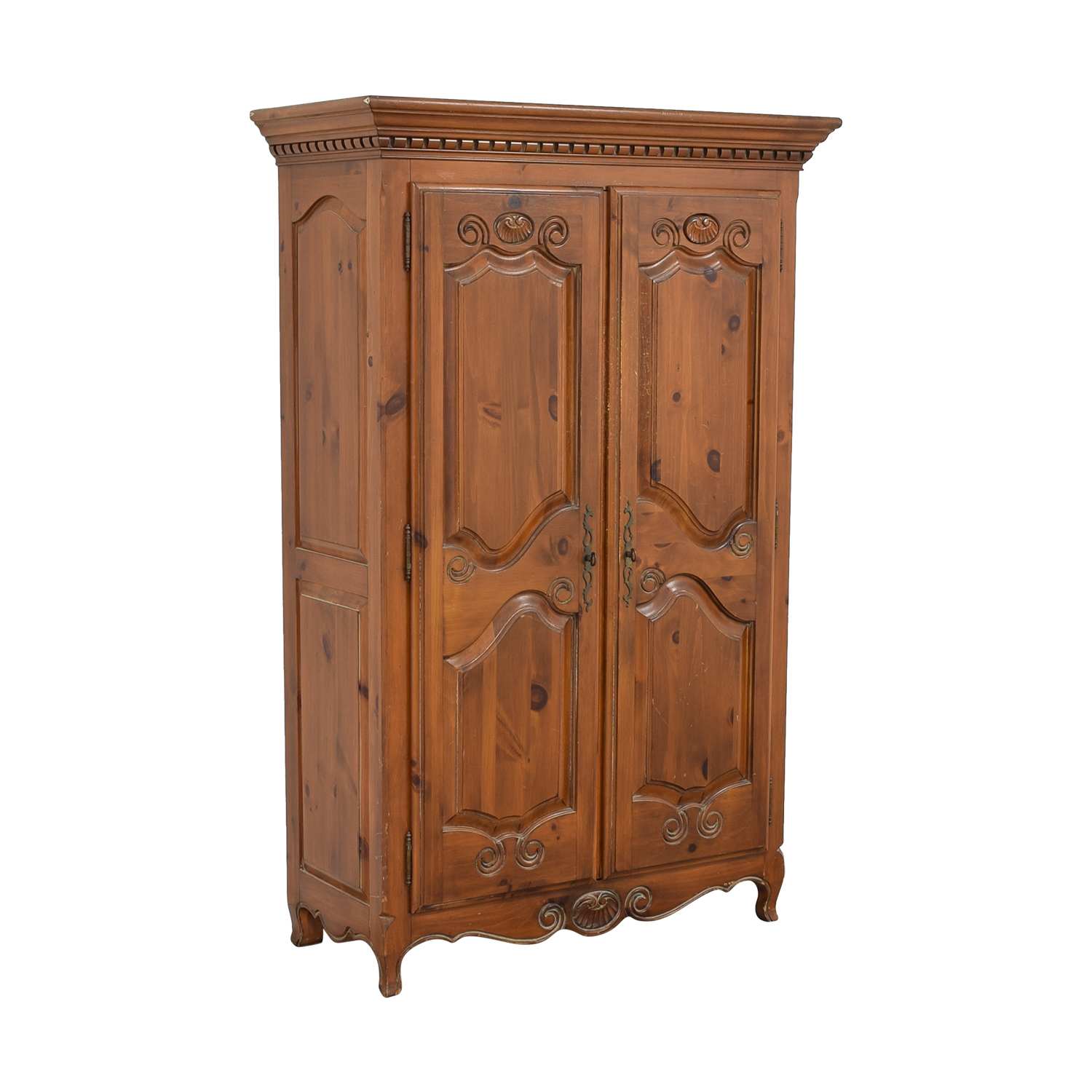 buy Ethan Allen Country French Armoire Ethan Allen
