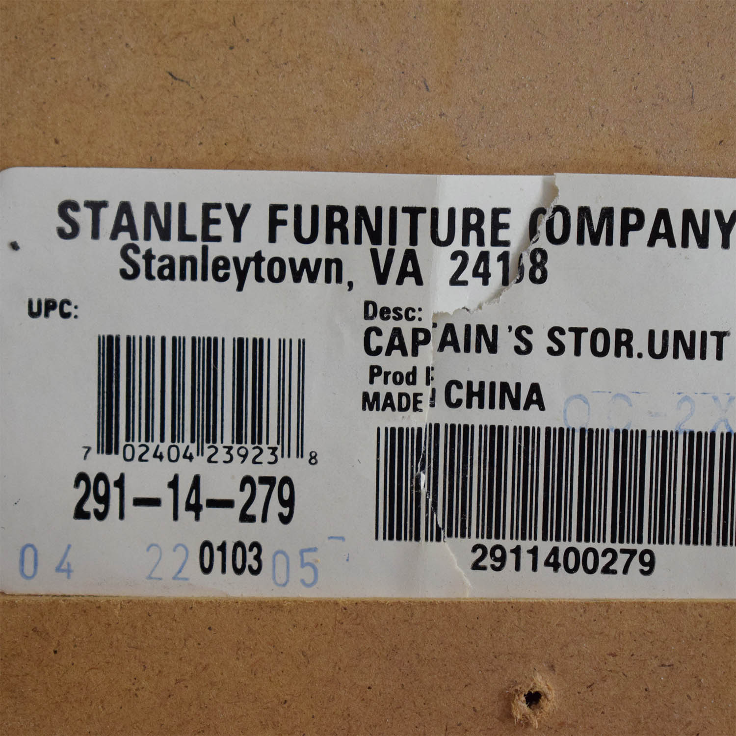 Stanley Furniture Stanley Furniture Twin Captains Storage Bed ct