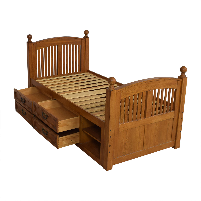 Stanley Furniture Stanley Furniture Twin Captains Storage Bed nj
