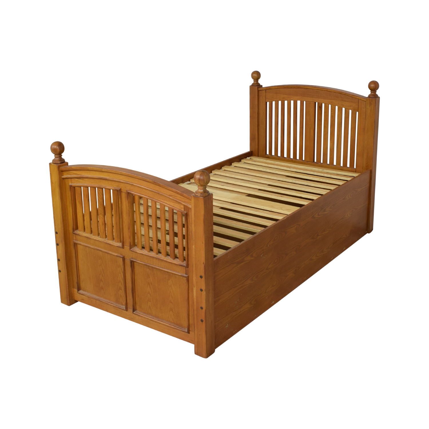 shop Stanley Furniture Twin Captains Storage Bed Stanley Furniture Bed Frames