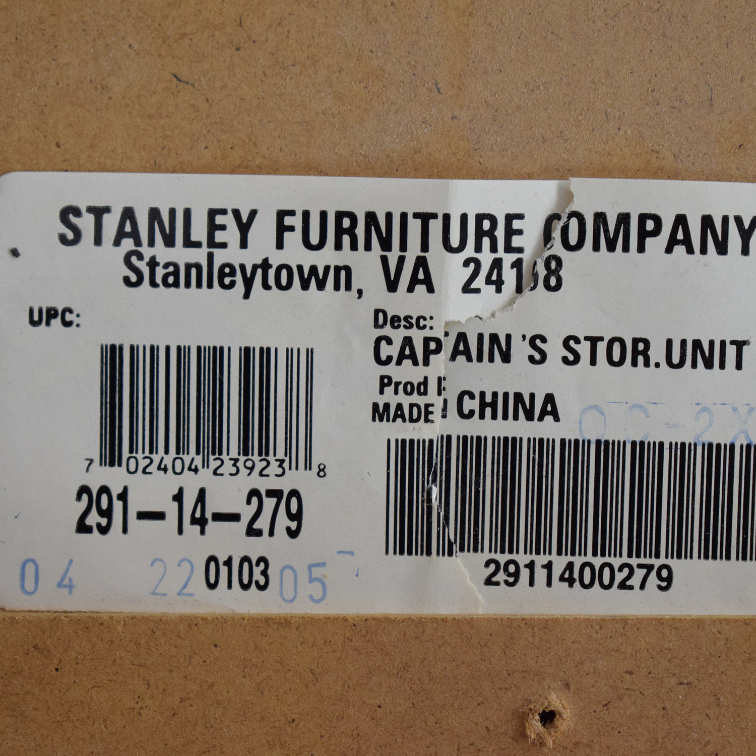 Stanley Furniture Stanley Furniture Twin Captains Storage Bed nyc