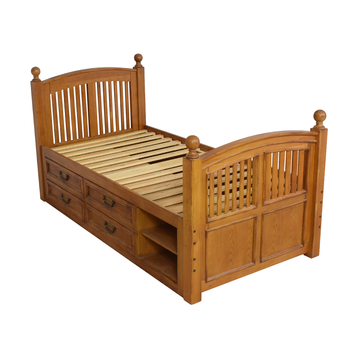 shop Stanley Furniture Twin Captains Storage Bed Stanley Furniture Beds