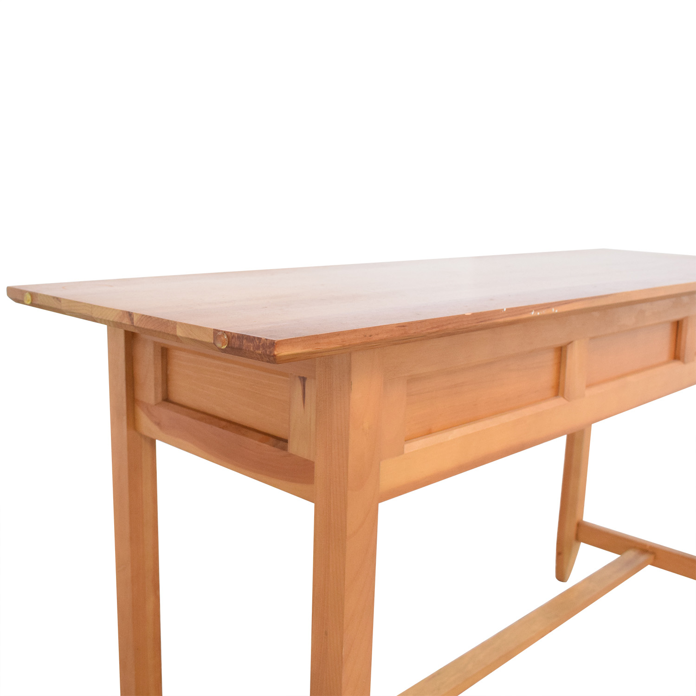 shop Crate & Barrel Console Table Crate & Barrel Accent Tables
