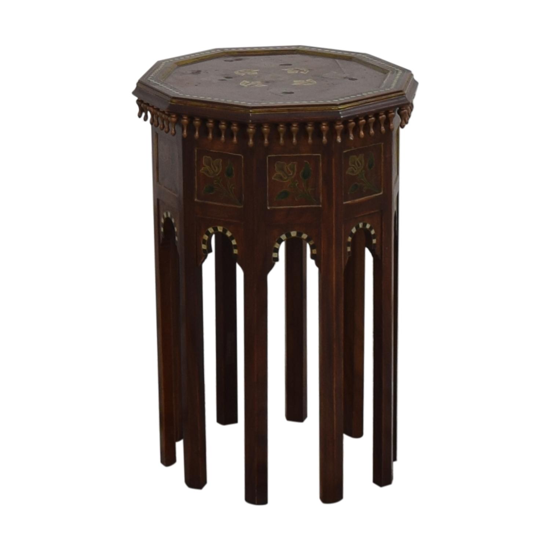 shop Vintage Moroccan Table  End Tables