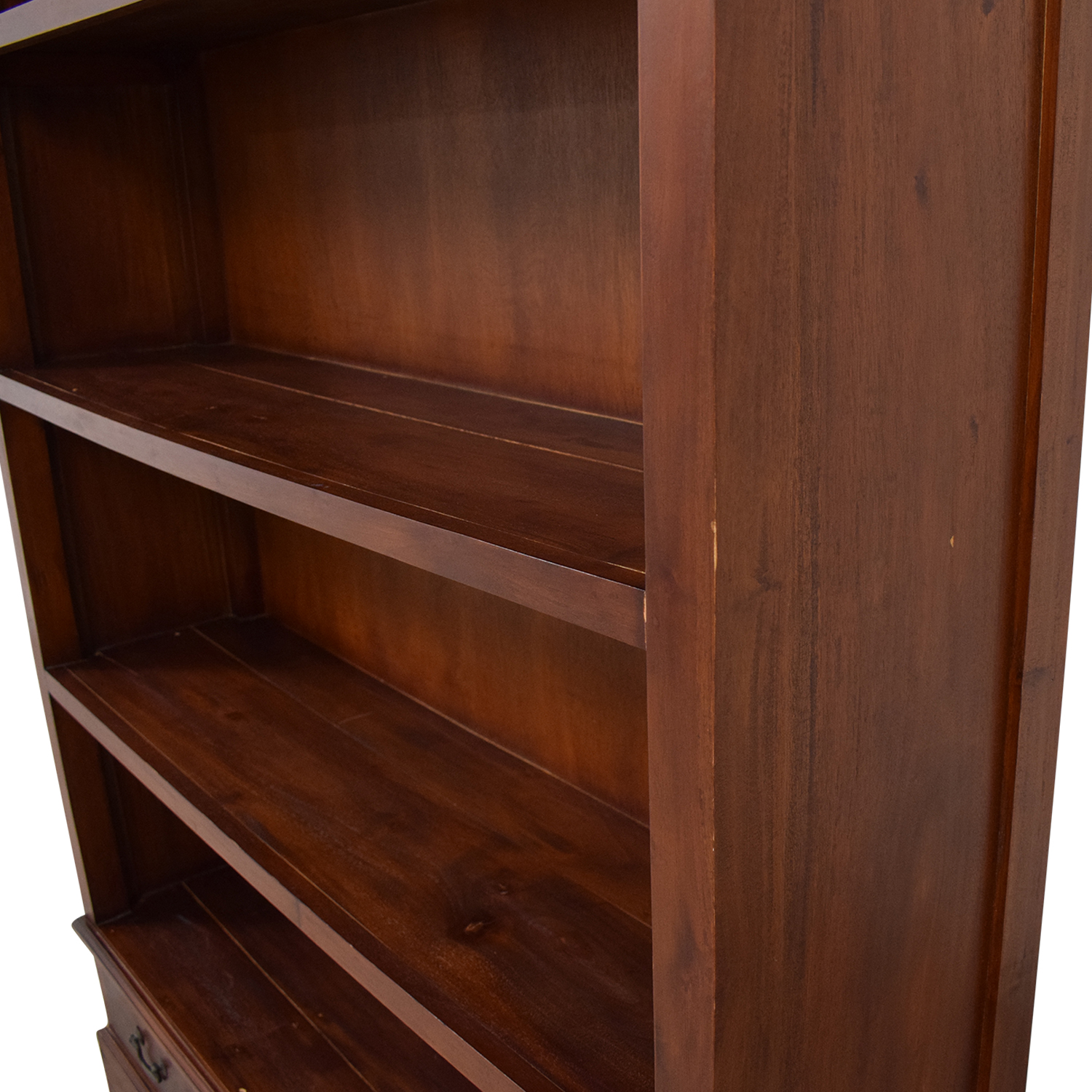 Bookcase with Drawers brown