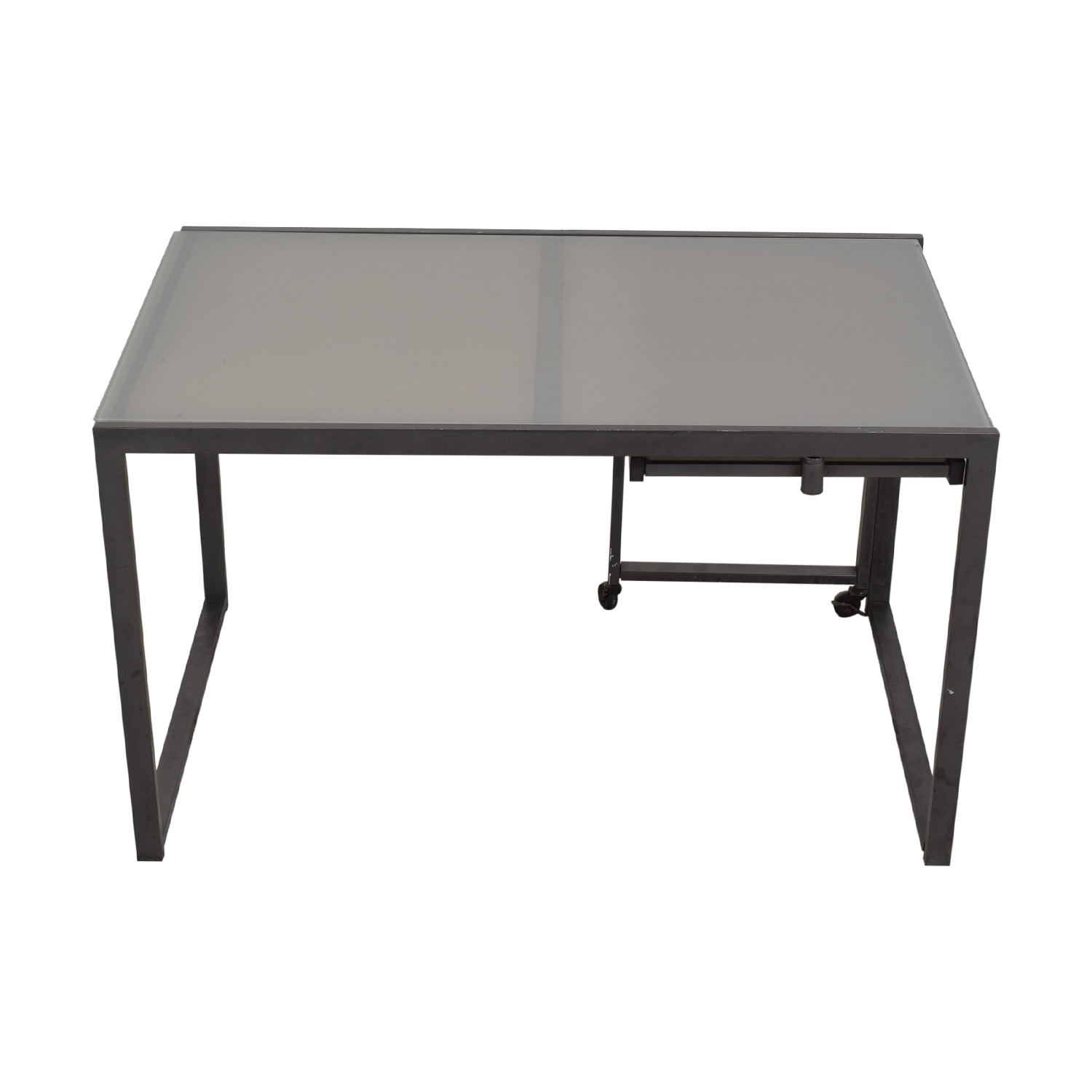 shop Office Desk with Pull Out  Tables