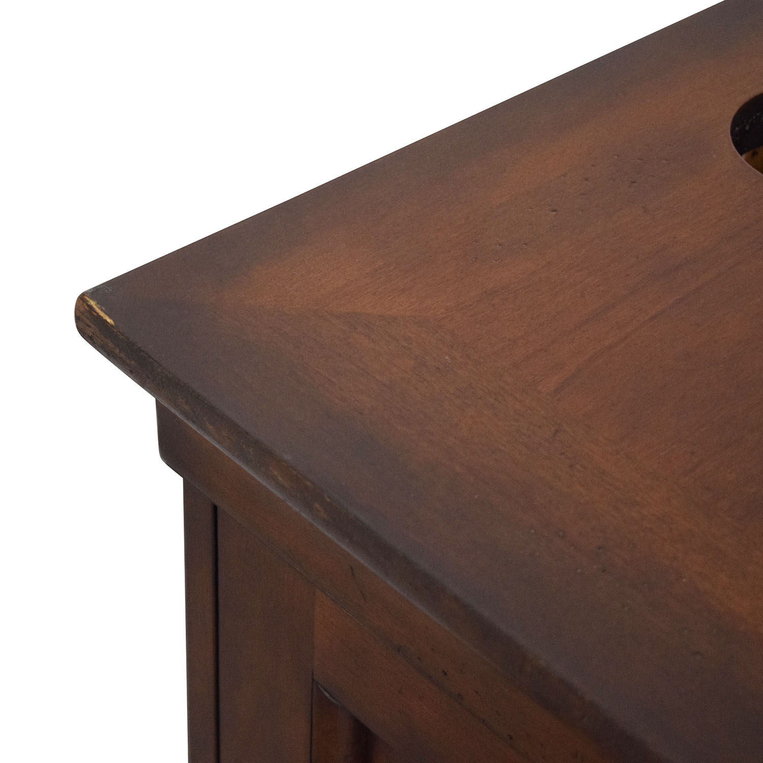 North Carolina Furniture Company Double Pedestal Locking Executive Desk brown