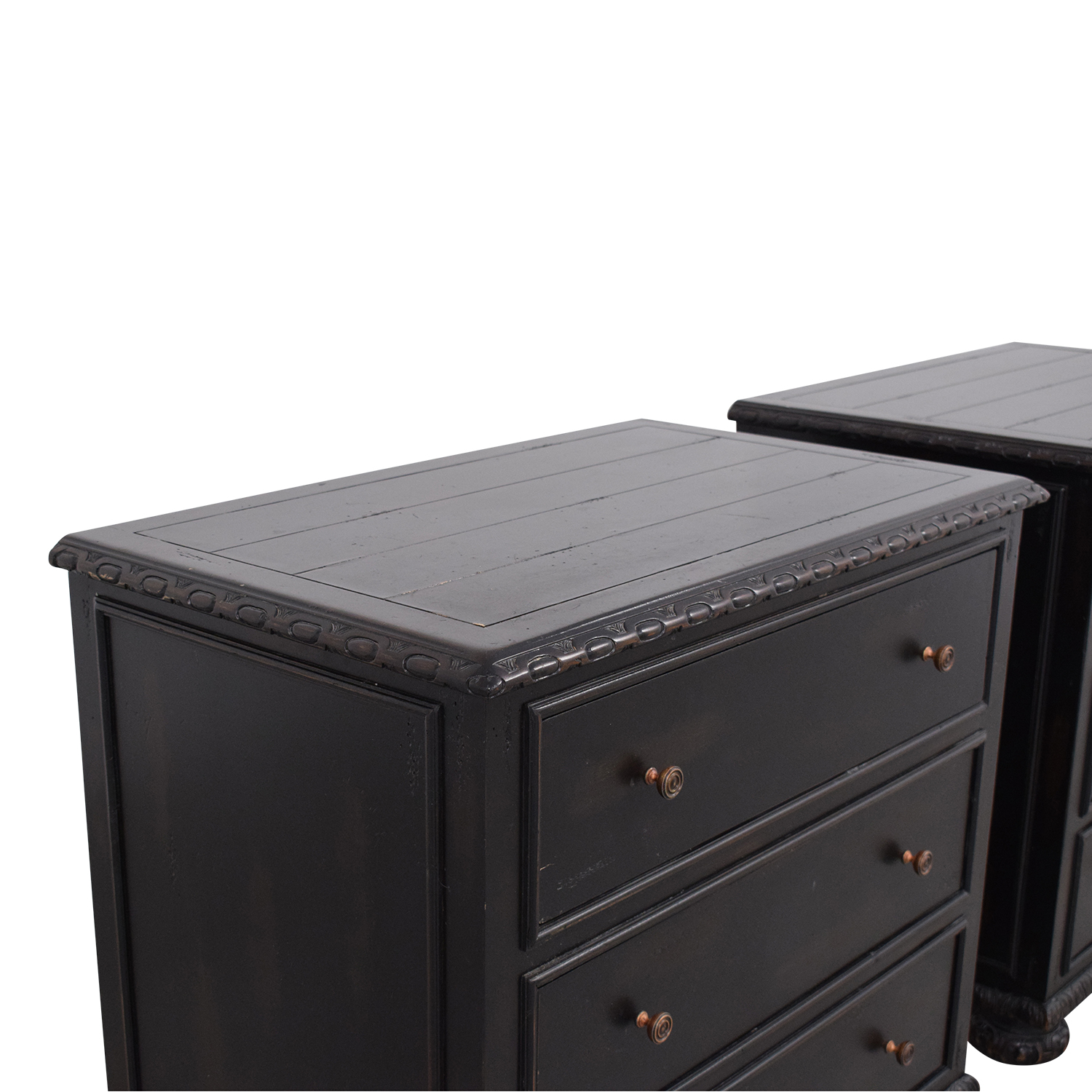 shop Restoration Hardware French Empire Closed Nightstands Restoration Hardware End Tables