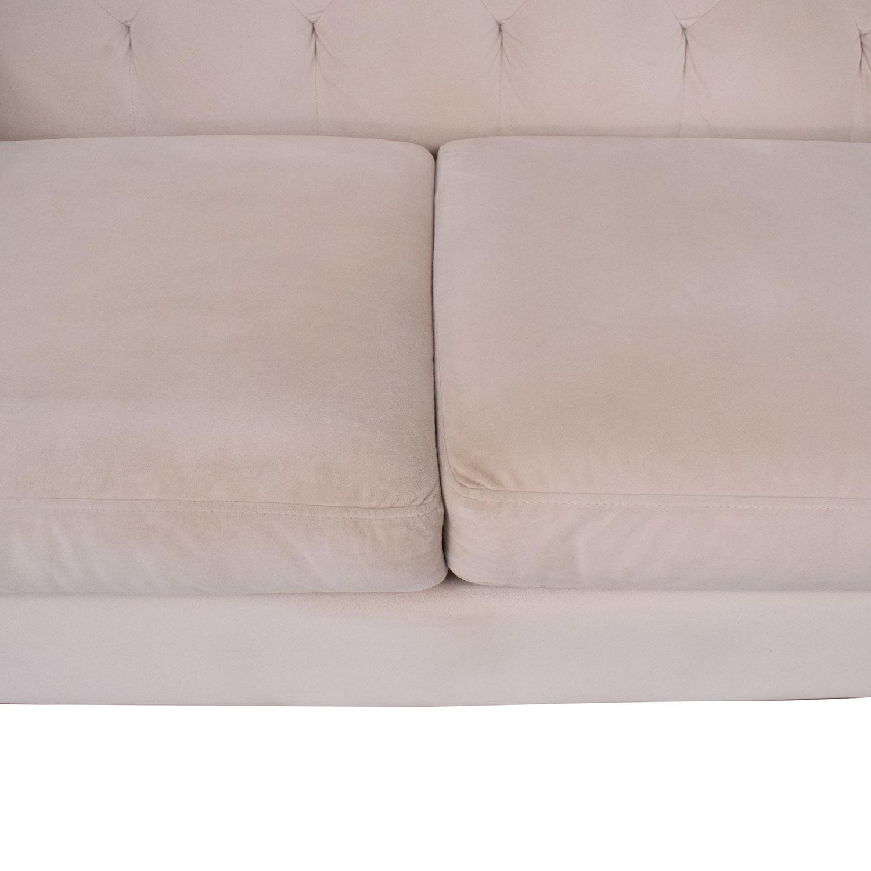 Macy's Macy's Three Cushion Sofa ct