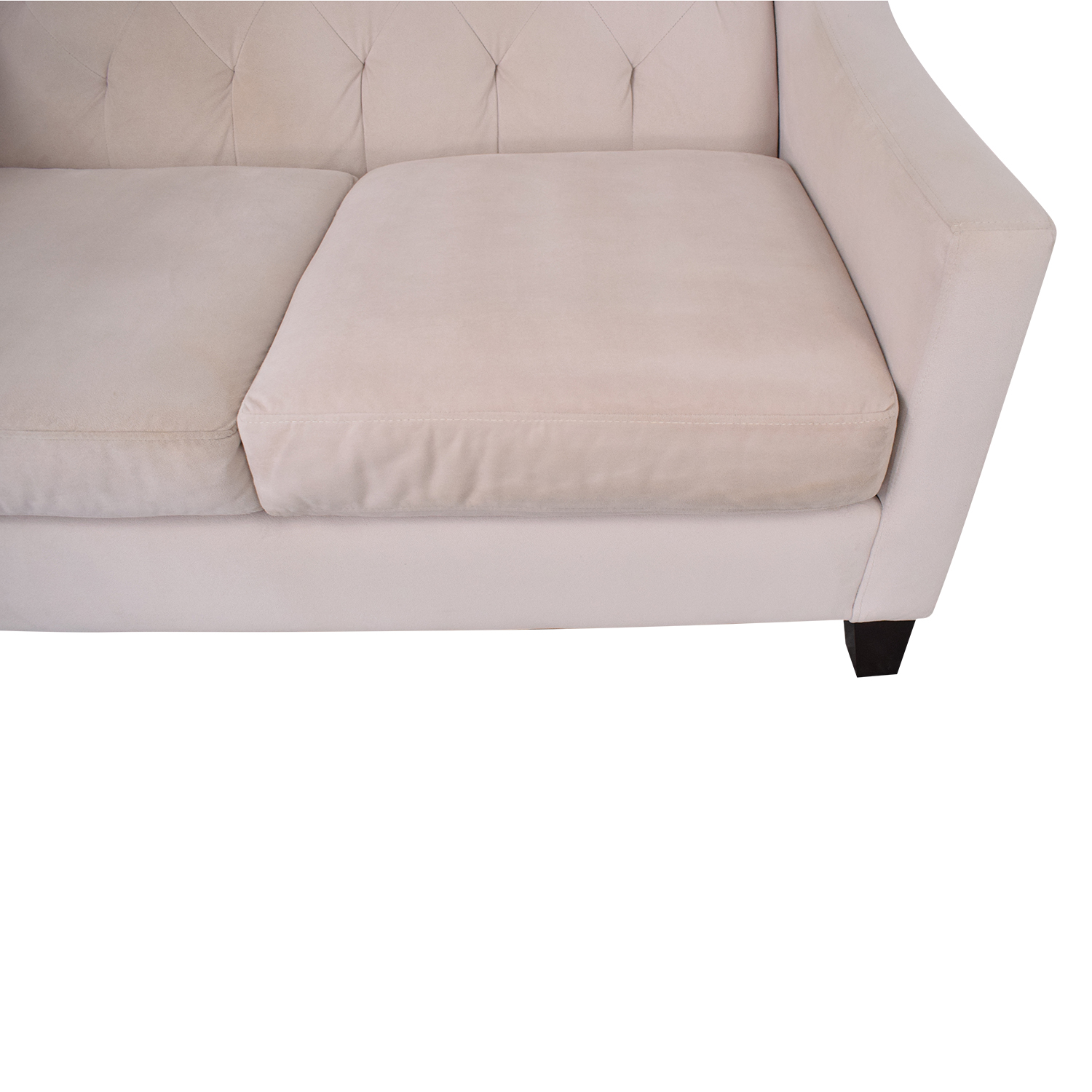 Macy's Macy's Cream Loveseat coupon