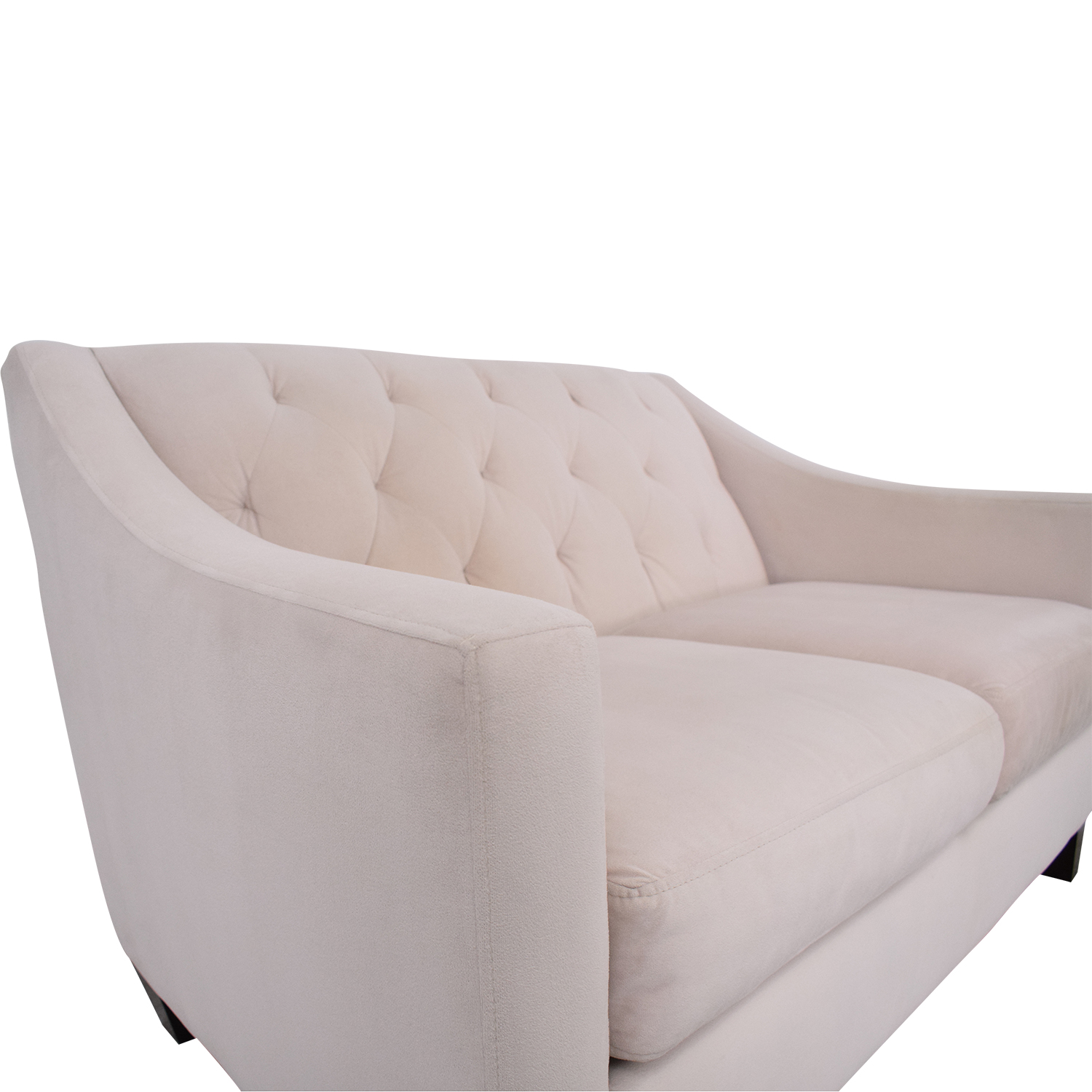 Macy's Macy's Cream Loveseat used