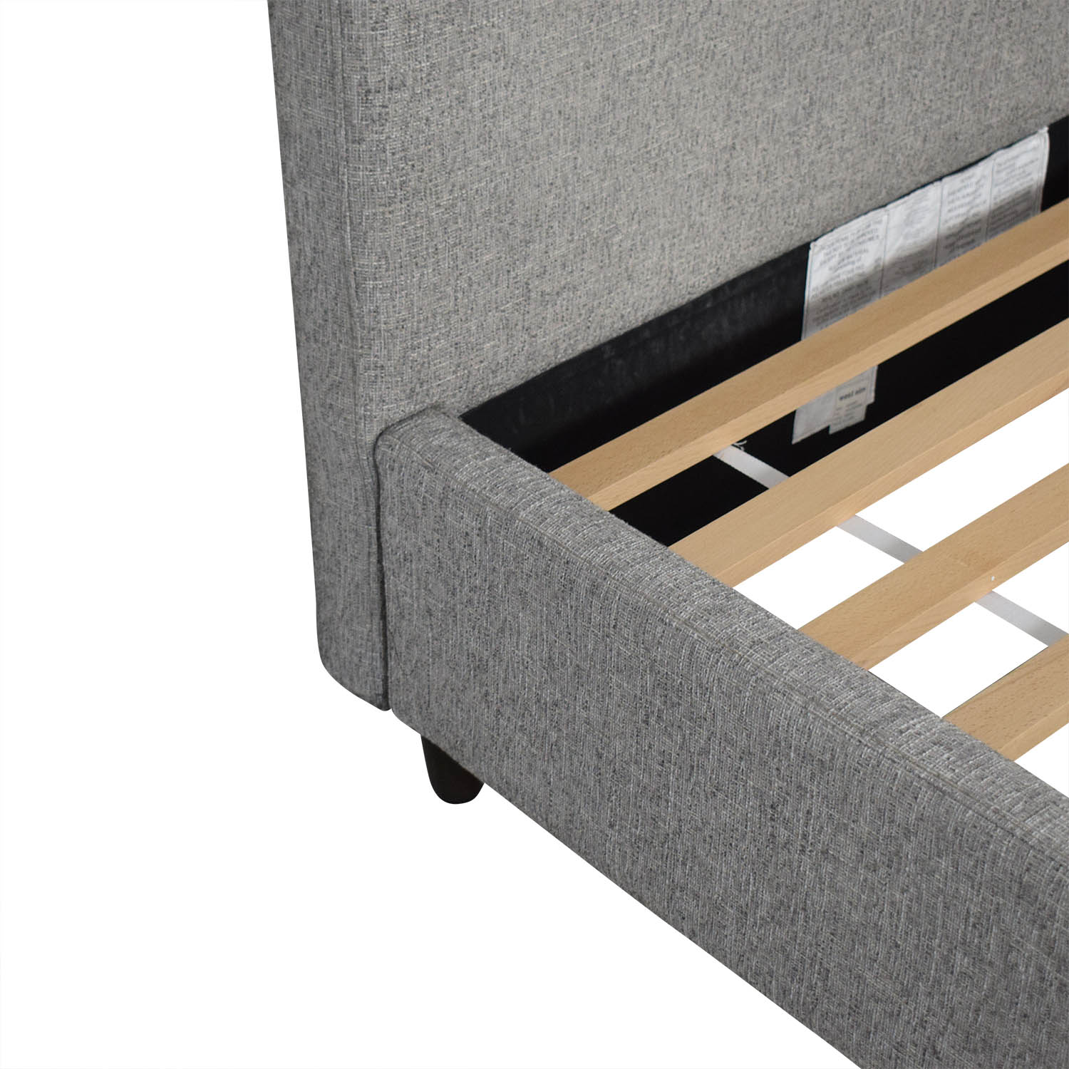 West Elm Contemporary Upholstered Storage Bed Queen / Bed Frames