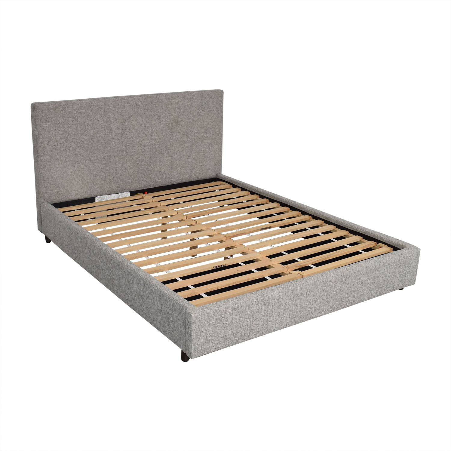 West Elm West Elm Contemporary Upholstered Storage Bed Queen ma