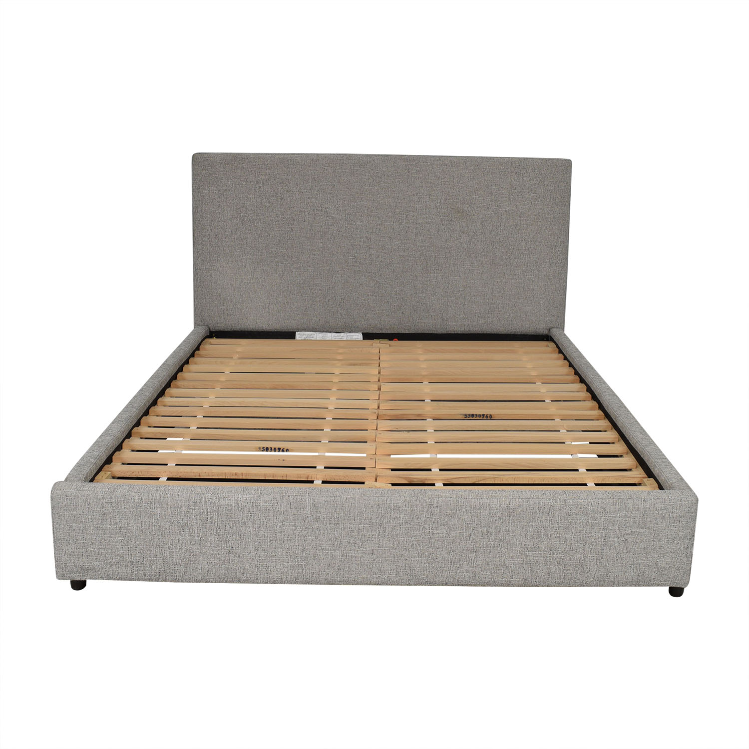shop West Elm West Elm Contemporary Upholstered Storage Bed Queen online