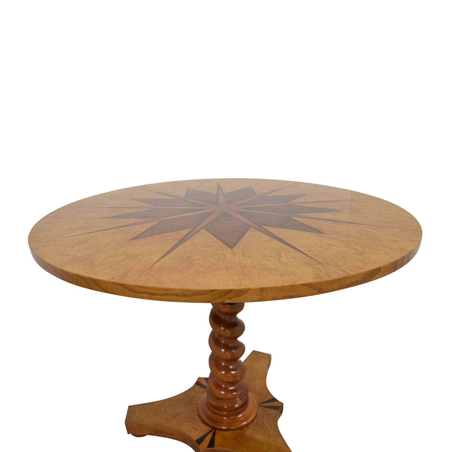 77 Off Baker Furniture Spindle Pedestal Dining Table Tables