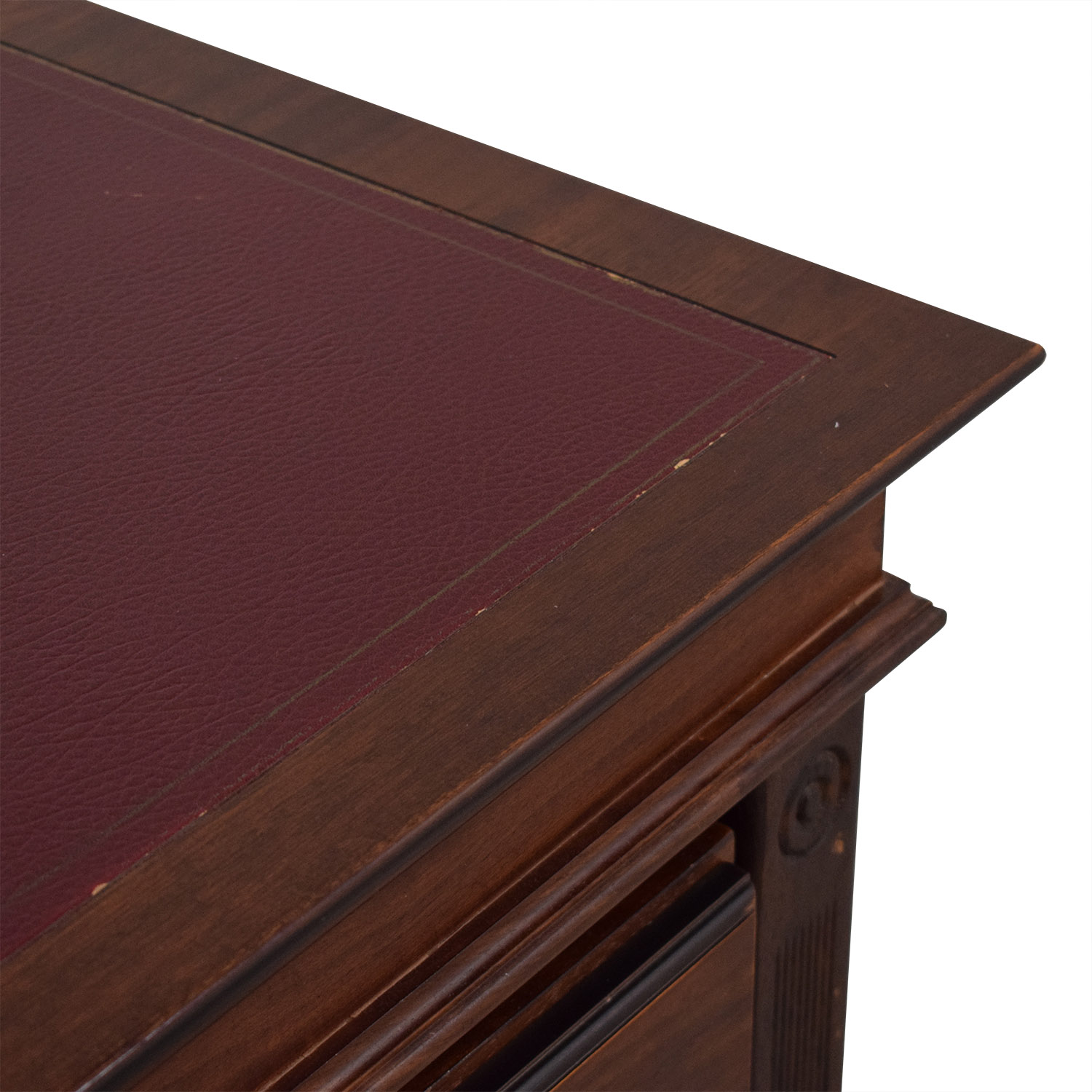 shop  Inlay Desk with Rolling Cabinet online