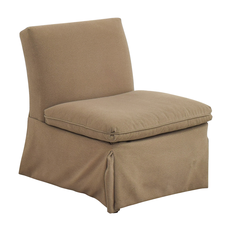 Ethan Allen Ethan Allen Slipcovered Side Chair ma