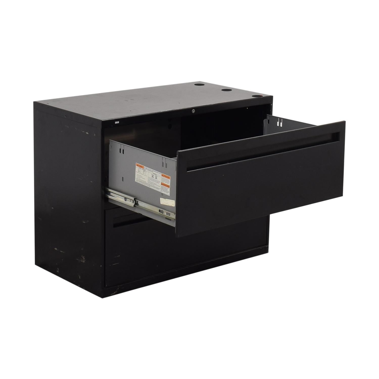 shop HON 2-Drawer Lateral File Cabinet Hon Filing & Bins
