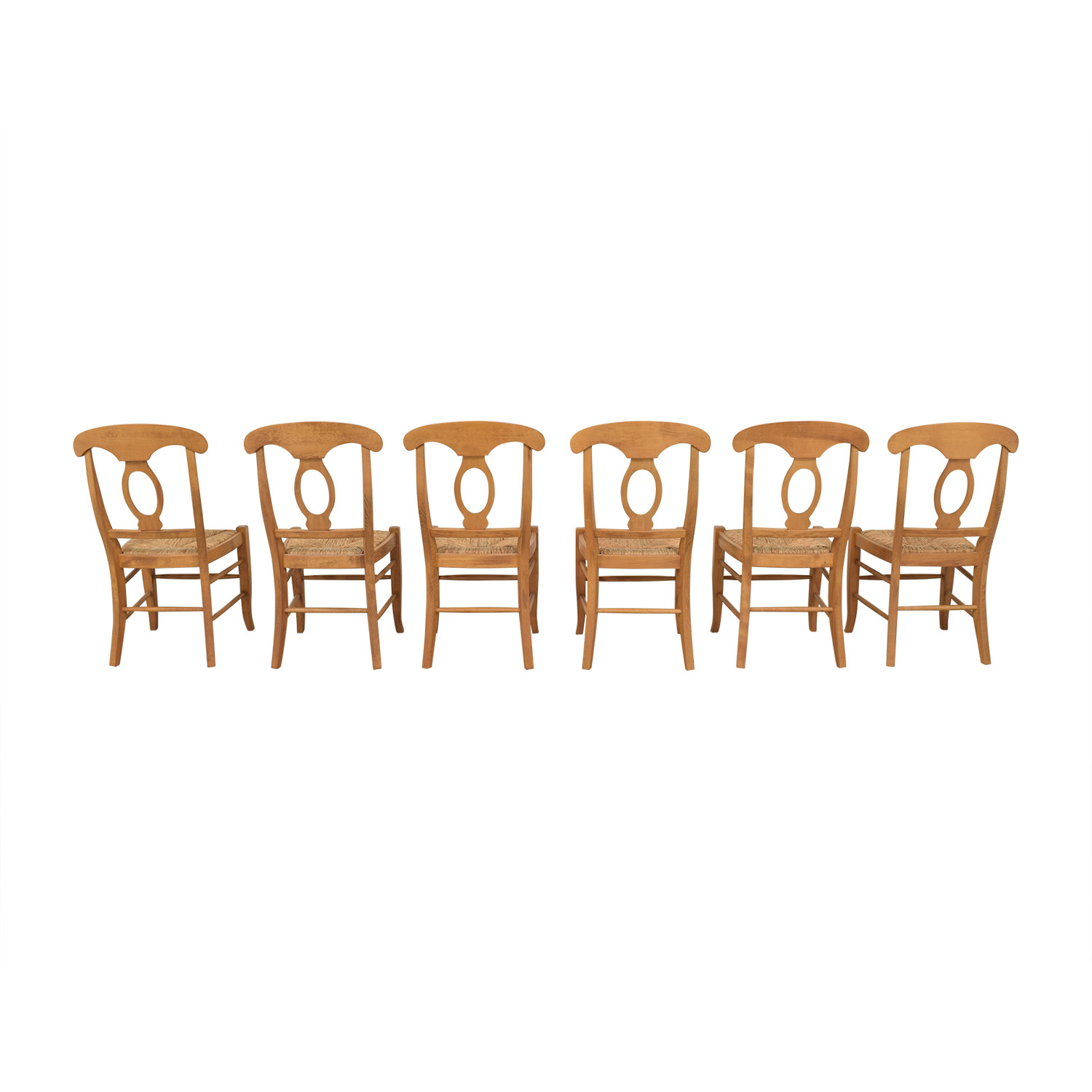 Pottery Barn Pottery Barn Napoleon Dining Side Chairs for sale