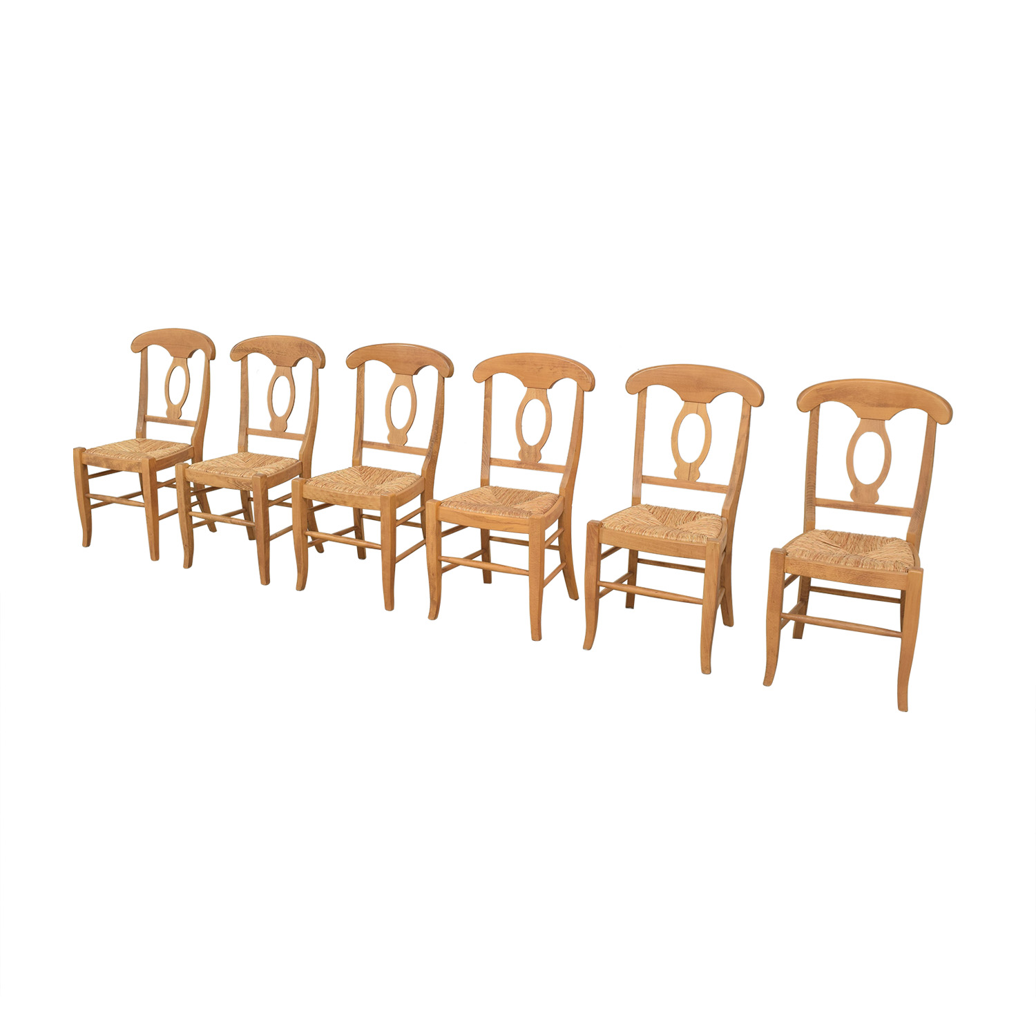 shop Pottery Barn Napoleon Dining Side Chairs Pottery Barn