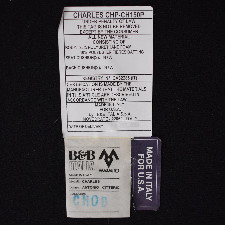 B&B Italia B&B Italia Charles Upholstered Ottoman dimensions