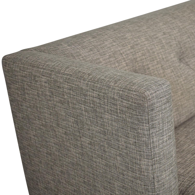 CB2 Avec Mid Century Sofa sale