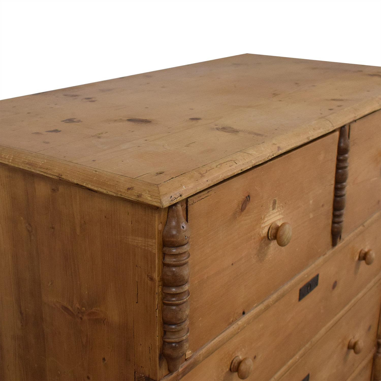 Vintage Five Drawer Dresser nyc