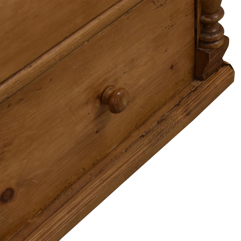 Vintage Five Drawer Dresser / Storage