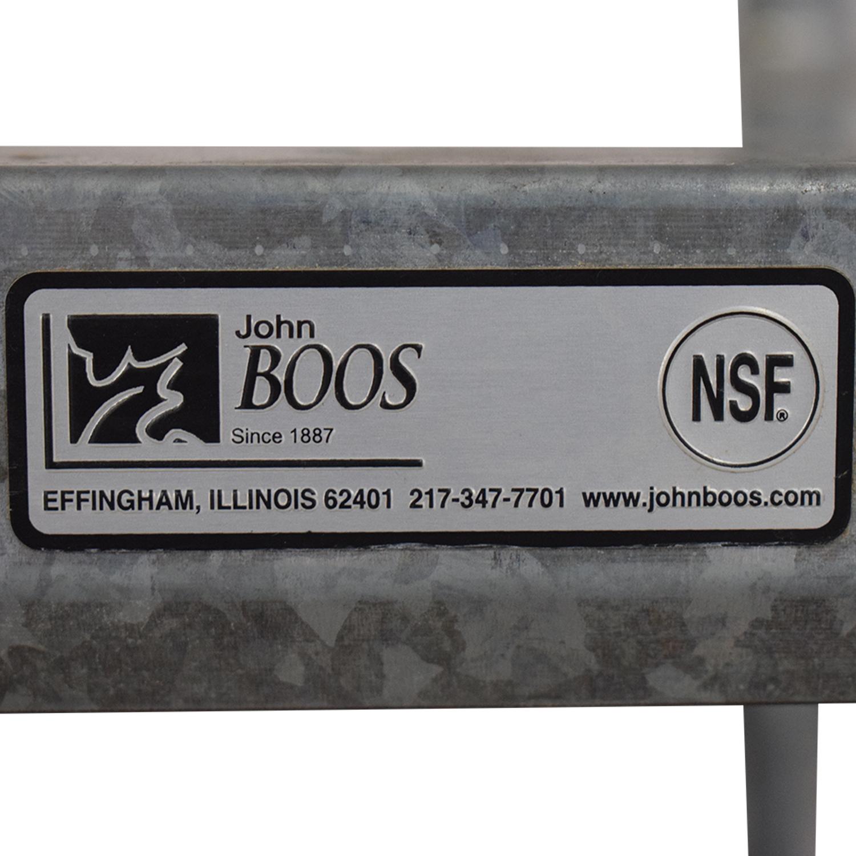 John Boos Work Table / Utility Tables
