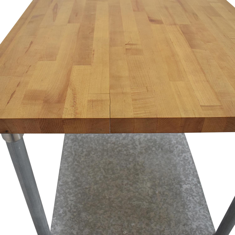 shop John Boos Work Table John Boos Utility Tables