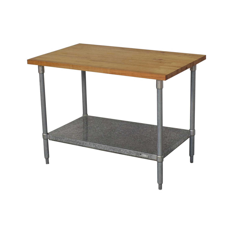 John Boos John Boos Work Table on sale