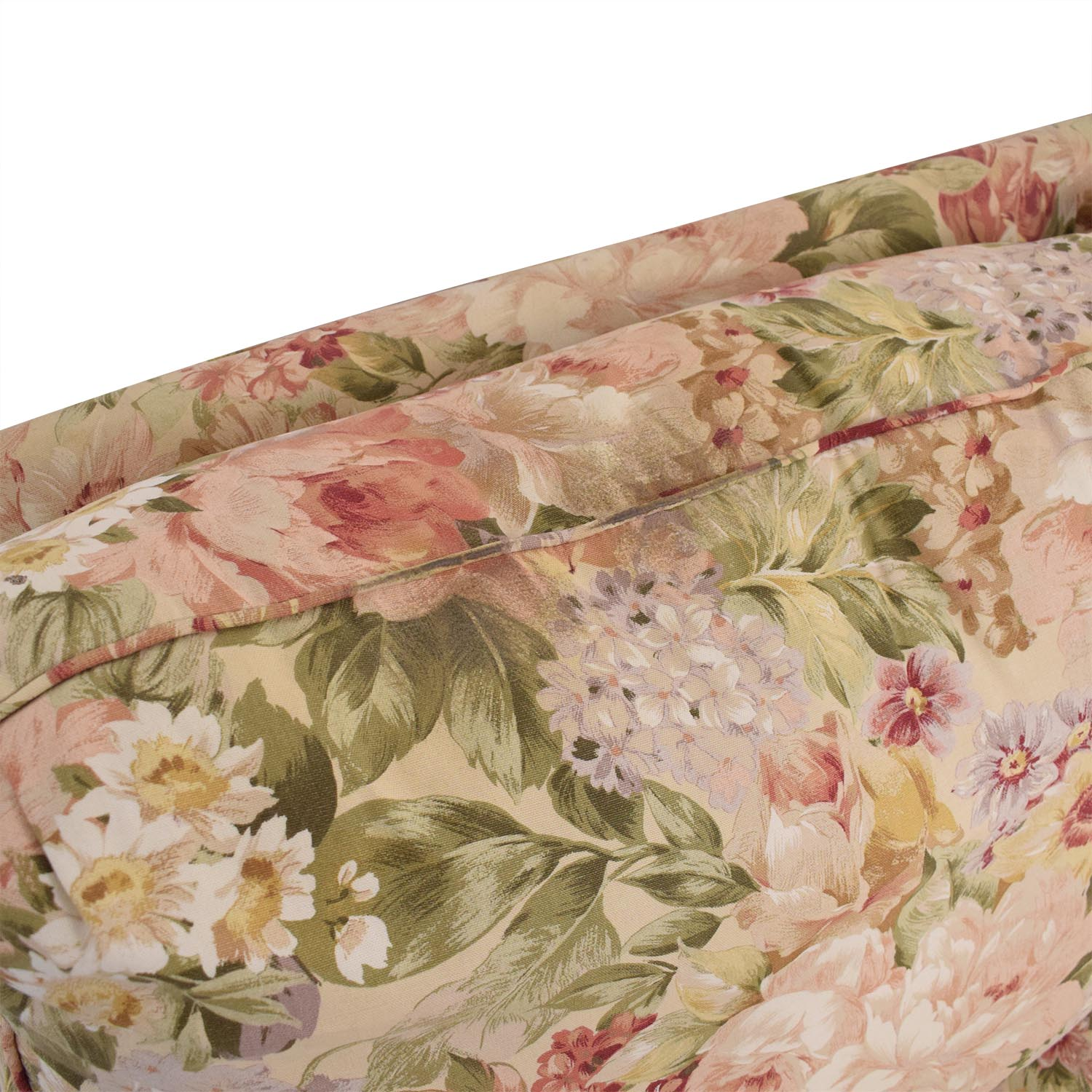 Ethan Allen Ethan Allen Floral Slipcovered Sofa ct