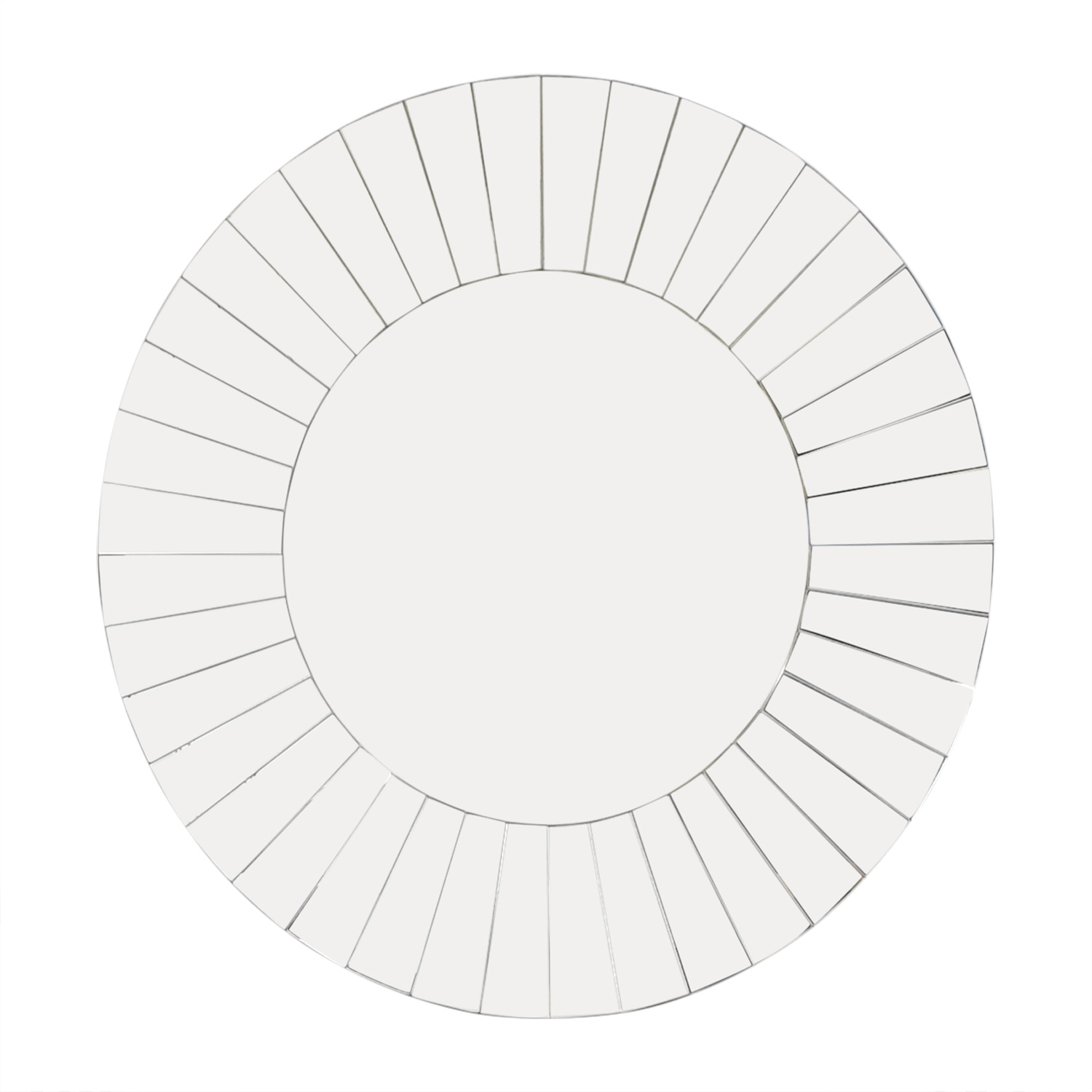 Howard Elliot Collection Roulette Round Panel Mirror dimensions