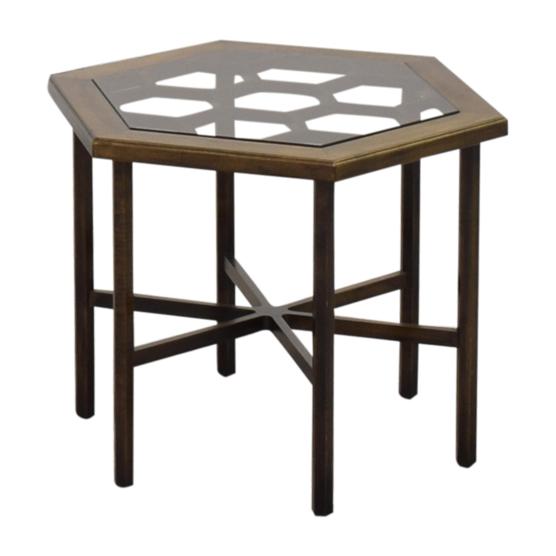 shop John Widdicomb Co. John Widdicomb Hexagonal Side Table online