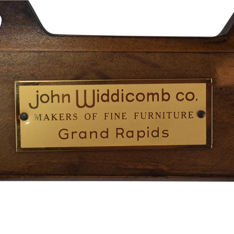 John Widdicomb Co. John Widdicomb Hexagonal Side Table brown